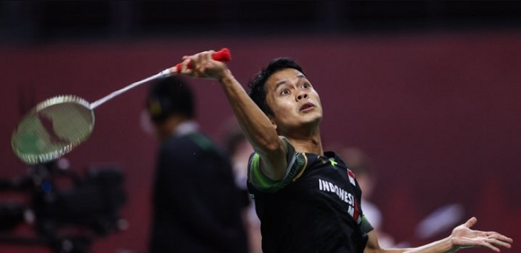 Tunggal putra Indonesia, Anthony Sinisuka Ginting. ft/badmintonphoto