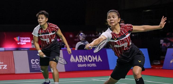 Ganda putri Indonesia, Greysia Polii / Apriyani Rahayu. ft/@badmintonphoto_official