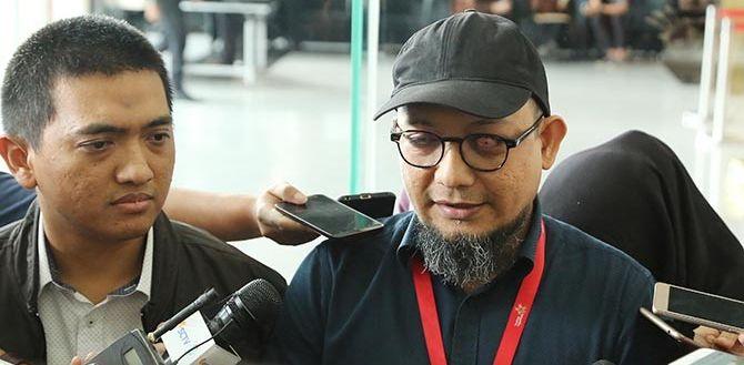 Penyidik Senior KPK, Novel Baswedan dan Ketua WP KPK Yudi Purnomo. Foto dok JawaPos.com