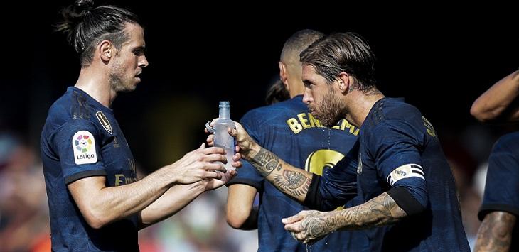 Gareth Bale dan Sergio Ramos.