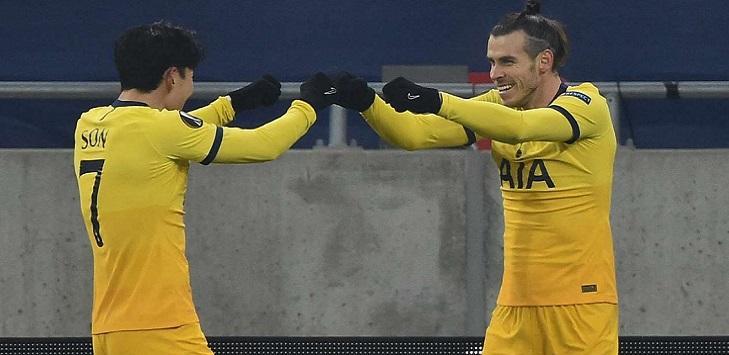 Penyerang sayap Tottenham Hotspur, Gareth Bale yang dipinjam dari Real Madrid.