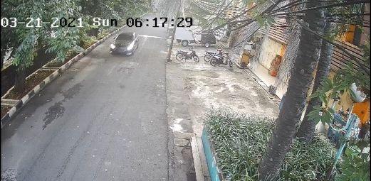 Screenshoot pengemudi Mercy tabrak bocah 7 tahun di Kelapa Gading (ist)