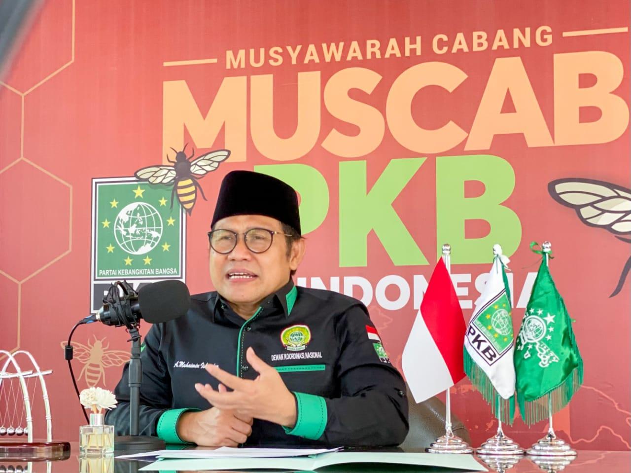 Ketua Umum DPP PKB A Muhaimin Iskandar atau Gus AMI