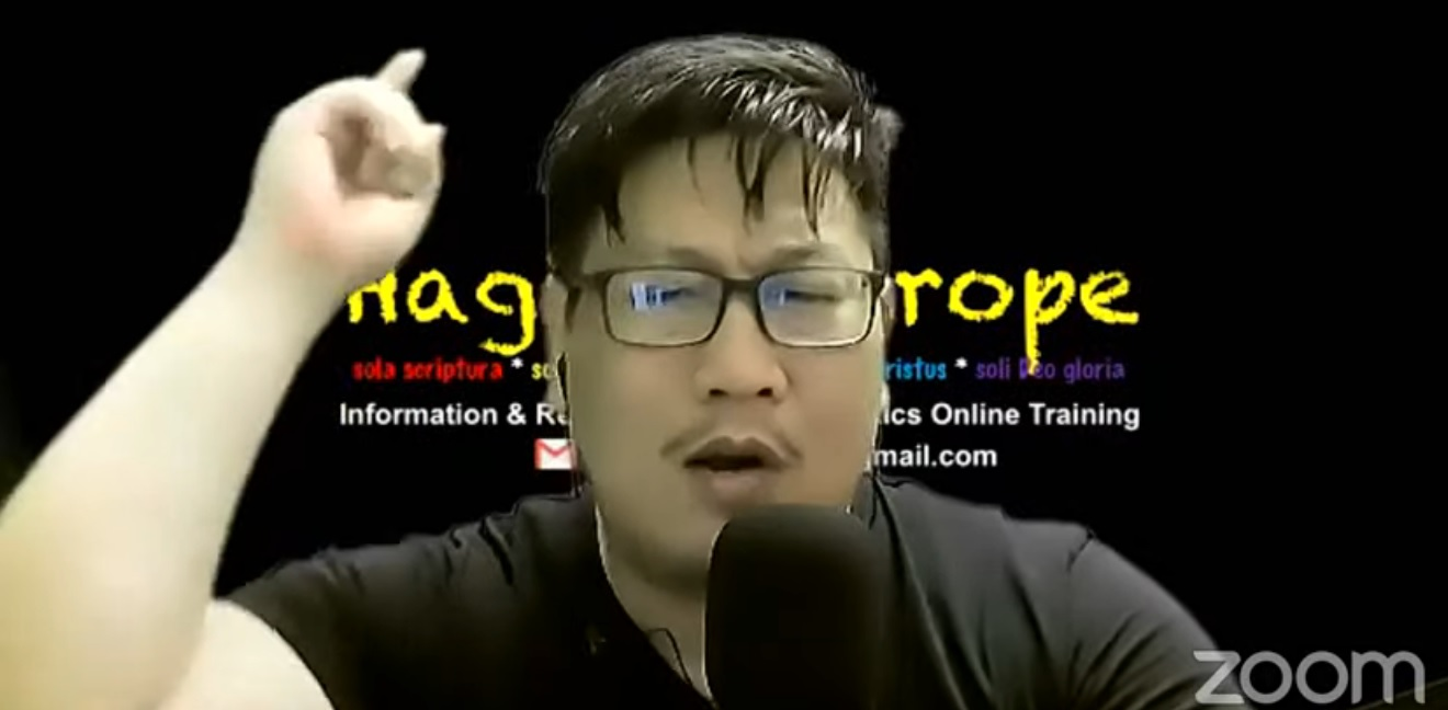 Jozeph Paul Zhang marah