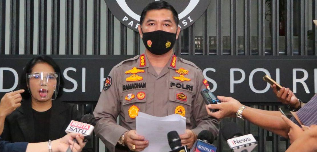 Kabag Penum Divisi Humas Polri Kombes Ahmad Ramadhan.