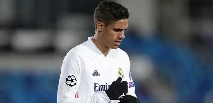 Bek Real Madrid, Raphael Varane positif covid-19