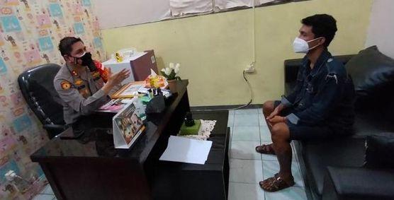 Anak anggota DPRD Kota Bekas, AT dan Kapolres Metro Bekasi Kombes Aloysius Suprijadi. Foto IST