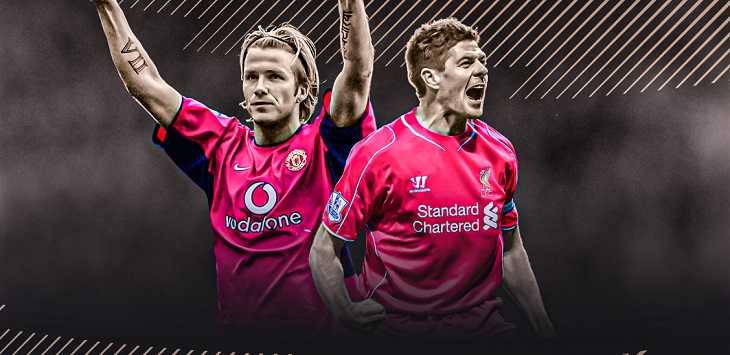 David Beckham dan Steven Gerrard masuk Half of Fame Premier League. ft/sky sports