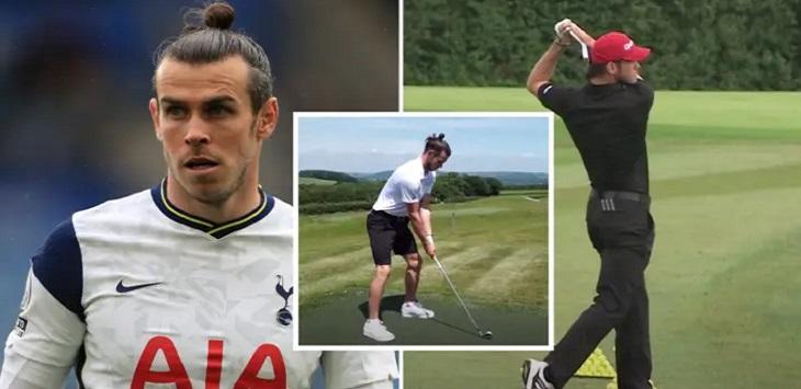 Gareth Bale ingin pensiun dini demi jadi pemain golf profesional. ft/ laman sport bible