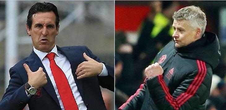 Pelatih Villarreal, Unai Emery dan Pelatih Manchester United, Ole Gunnar Solskjaer, prediksi skor villarreal vs man united