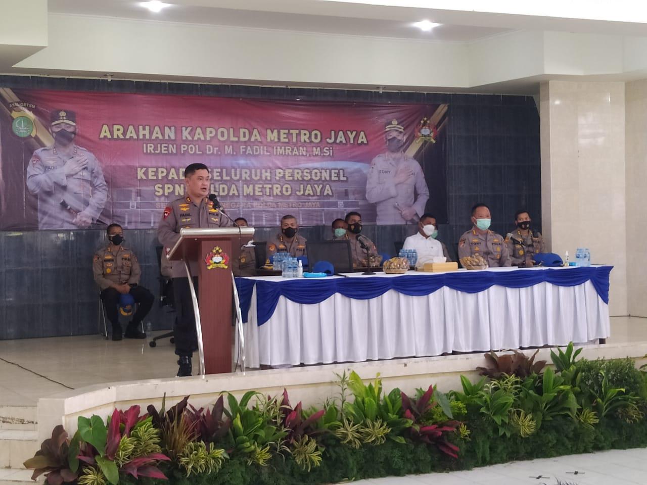 Arahan Kapolda ke anggota SPN Lido