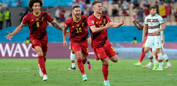 Timnas Belgia, belgia vs portugal