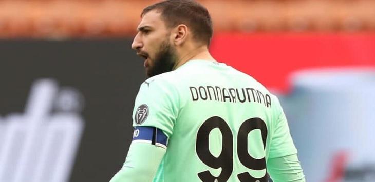 Kiper AC Milan, Gianluigi Donnarumma identik dengan nomor punggung 99.