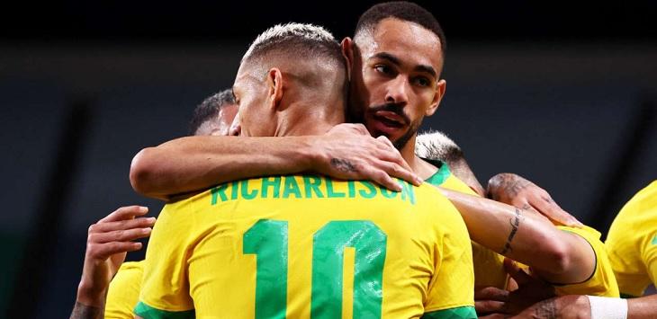 Brasil lolos ke semifinal Olimpiade Tokyo 2020 usai mengalahkan Mesir 1-0.
