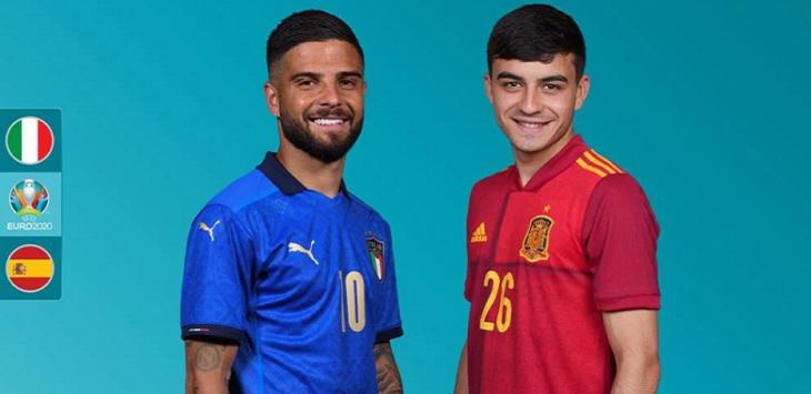 Prediksi Skor Italia vs Spanyol.