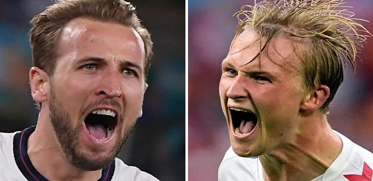 Preview Inggris vs Denmark, prediksi skor inggris vs denmark