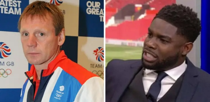 Stuart Pearce dan Micah Richard, kampung olimpiade