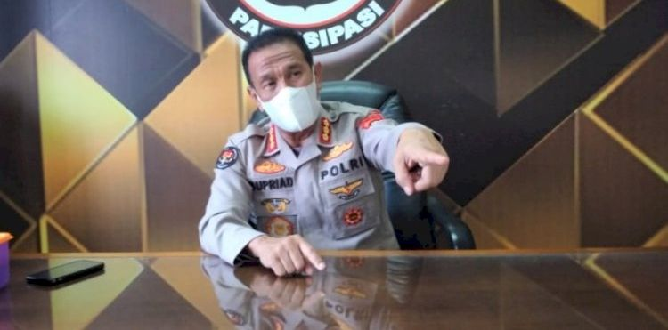 Kabid Humas Polda Sumsel, Kombes Supriadi. Foto RMOLSumsel