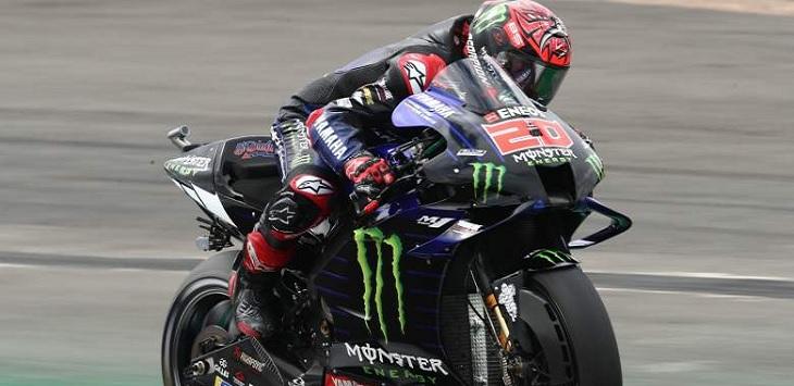 Pembalap Monster Yamaha, Fabio Quartararo. Ft/crash.net