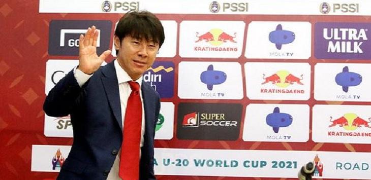 Pelatih Timnas Indonesia, Shin Tae Yong.