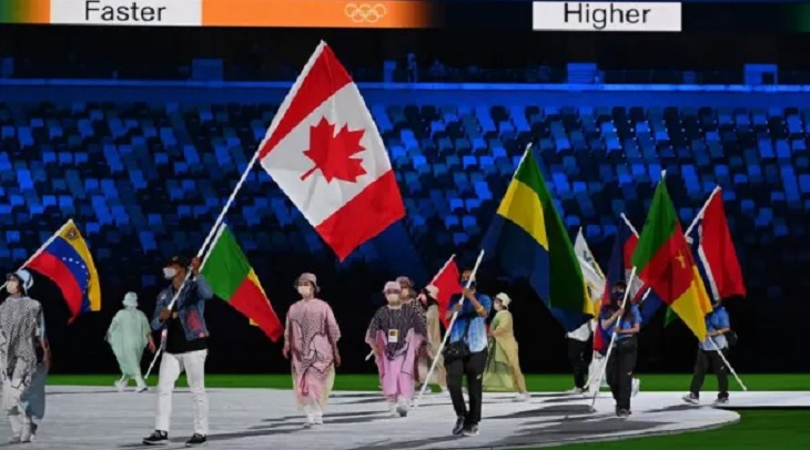 Olimpiade Tokyo 2020 resmi ditutup, Minggu (8/8/2021).