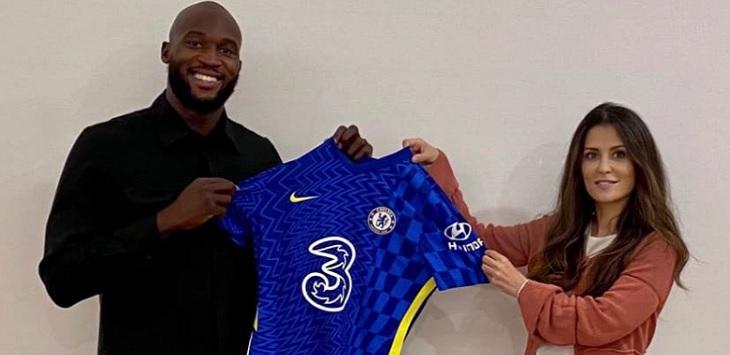 Chelsea meresmikan perekrutan Romelu Lukaku dari Inter Milan dengan biaya 115 juta euro, Kamis (12/8/2021). ft/twitter @ChelseaFC