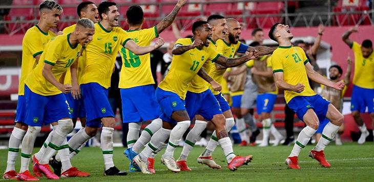 Timnas Brasil lolos ke final Olimpiade Tokyo 2020 setelah mengalahkan Meksiko di semifinal.