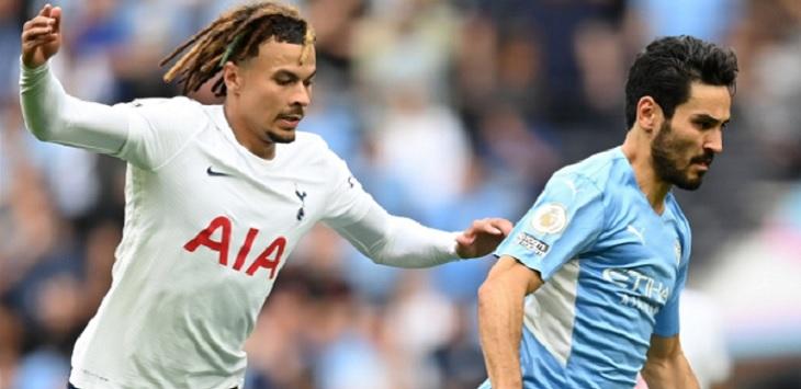 Tottenham Hotspur menang tipis 1-0 atas Manchester City pada pekan perdana Premier League 2021/22, di Tottenham Hotspur Stadium, Minggu (15/8/2021) malam WIB. Ft/Twitter @PremierLeague