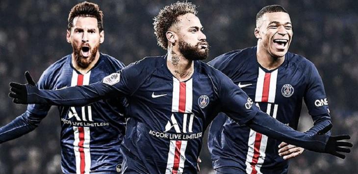 Paris Saint-Germain kini punya Trio MNM, Messi, Neymar dan Mbappe, drawing liga champions