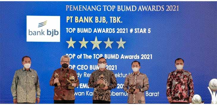 Bank BJB Pemenang Top BUMD