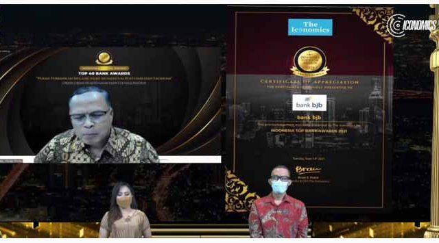 Bank BJB Raih Penghargaan Top Bank Awards 2021