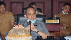 Ketua DPRD Pinrang, H. Muhtadin