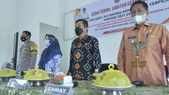 Sekretaris Daerah (Sekda) Luwu Utara, Armiadi, menghadiri acara Serah Terima Jabatan (Sertijab) Kepala Desa (Kades) dari Pjs Kades kepada Kades Terpilih Periode 2021-2027