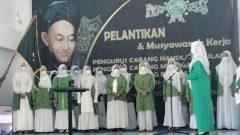 Nurul Ulfa Lantik PC Fatayat NU Kabupaten Barru