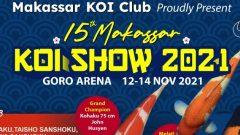 Pasti Seru, Ini yang Baru di 15th Makassar Koi Show 2021