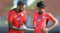 Asisten Pelatih Borneo FC Ahmad Amiruddin (kanan). (HO/Borneofc.id)