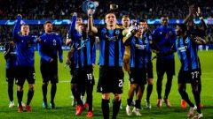 Club Brugge. Ft/twitter @ChampionsLeague