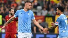 Dreby Della Capitale, Lazio vs Roma pada giornata keenam Serie A 2021/22 di Stadion Olimpico, Minggu (26/9/2021) malam WIB.