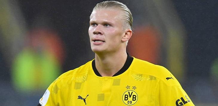 Striker Borussia Dortmund, Erling Braut Haaland, erling haaland