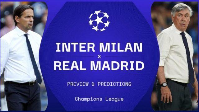 Preview Inter Milan vs Real Madrid, Simonez Inzaghi akan beradu taktik dengan Carlo Ancelotti di Giuseppe Meazza, Kamis (16/9/2021) dini hari WIB.