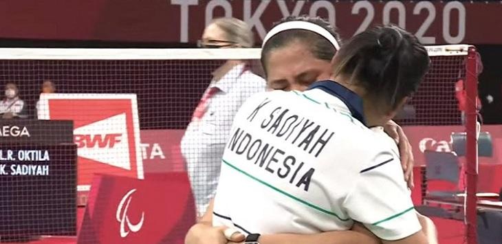 Ganda putri parabadminton Indonesia, Leani Ratri Oktila / Khalimatus Sadiyah.