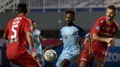 Pertandingan Persija vs Persela di Stadion Pakansari Cibinong, Bogor, Jumat (24/9/2021) malam dimenangkan Macan Kemayoran dengan skor 2-1. Ft/Twitter @Liga1 Match