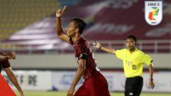 Pertandingan perdana Liga 2 2021 antara Persis Solo vs PSG Pati di Stadion Manahan Solo, Minggu (26/9/2021) malam dimenangkan Persis dengan skor 2-0. Ft/Twitter @Liga2Match