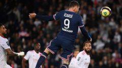 Mauro Icardi menjadi penentu kemenangan PSG atas Lyon di Parc des Princes, Senin (20/9/2021) dini hari WIB.
