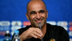 Pelatih Timnas Belgia, Roberto Martinez.