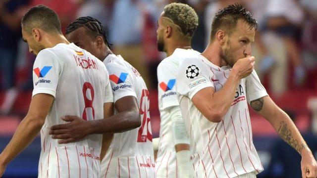 Sevilla ditahan imbang Red Bull Salzburg di Stadion Sanchez Pizjuan, Selasa (14/9/2021) malam WIB.