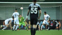 Pertandingan Sheriff Tiraspol vs Shakhtar Donetsk di Stadionul Sheriff (Tiraspol), Rabu (15/9/2021) malam WIB. Ft/Twitter @ChampiopnsLeague